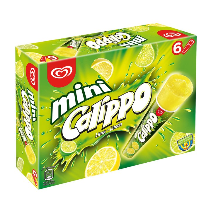 Calippo mini lima limón