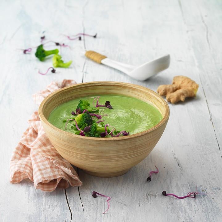 Sopa thai de bròquil