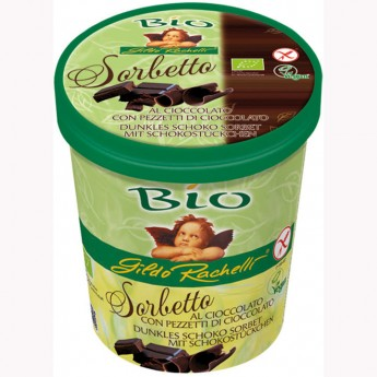 Tarrina sorbete chocolate negro Bio