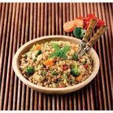Saltat de quinoa amb verdures