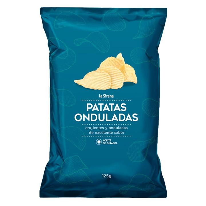 Patatas onduladas