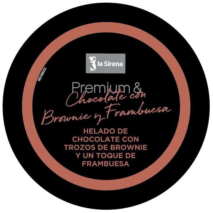 Terrina xocolata gerd i brownie Premium
