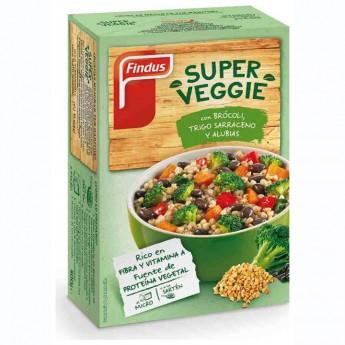 Super veggie bròquil, blat, mongetes Findus