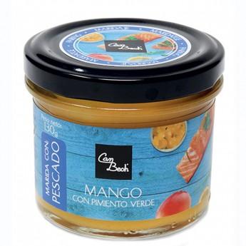 Chutney mango i pebrot verd