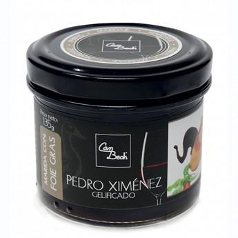 Salsa dolça gelificada Pedro Ximenez