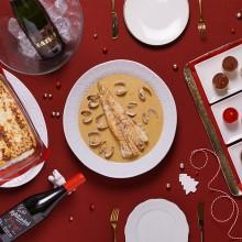 Nadal de cinema de cruixents, farcits i peixos amb salsa