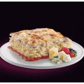 Lasanya 4 formatges beixamel fruits vermells Premium