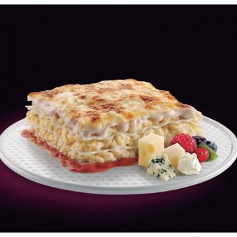 Lasaña 4 quesos bechamel frutos rojos Premium