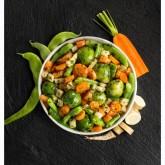 Barreja verdures plantes aromàtiques