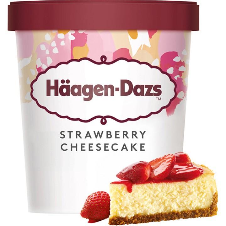 Terrina strawberry cheesecake H. Dazs