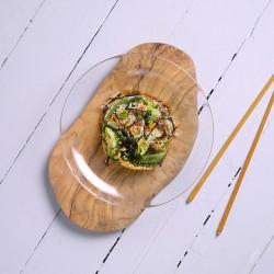 Salteado oriental de quínoa con verduras
