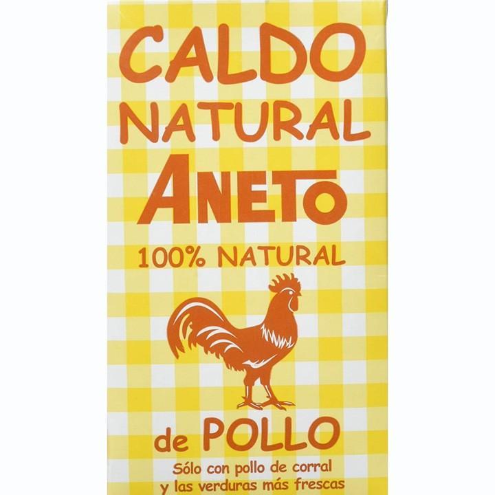 Brou natural de pollastre Aneto