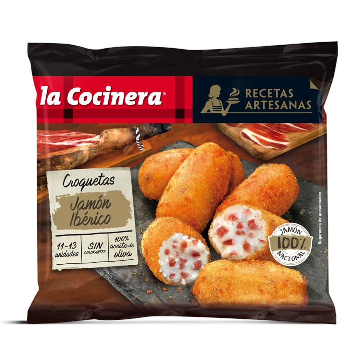 Croquetes pernil ibèric Cocinera