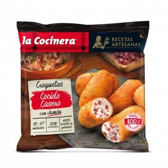 Croquetes artesanes de pernil i carn d'olla La Cocinera