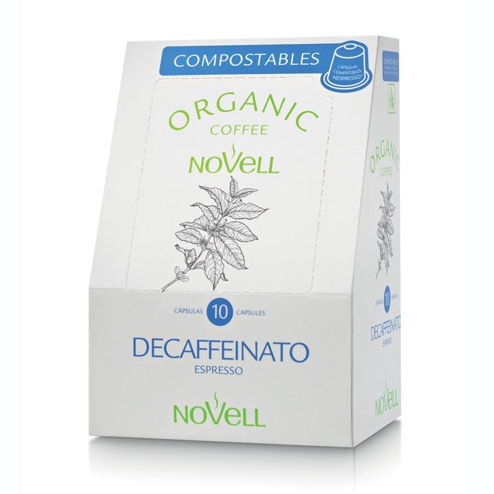 Cafè Bio Novell descafeïnat