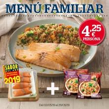 Menú Familiar ¡TODO POR 16,99€!
