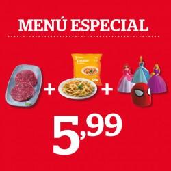 Menú especial per a nens ¡TOT PER 5,99!