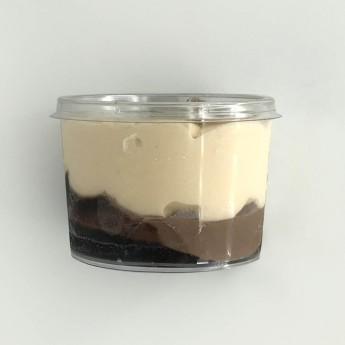 Copes gelades vainilla i xocolata