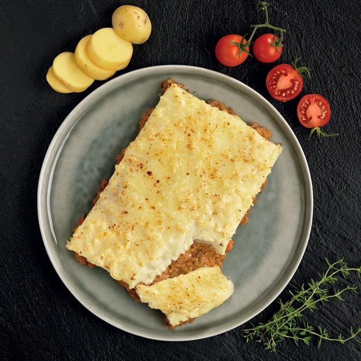Gratén de patata y carne Listísimos