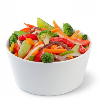 Verdures per a wok