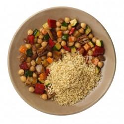 Tajine vegetal con quinoa y mijo