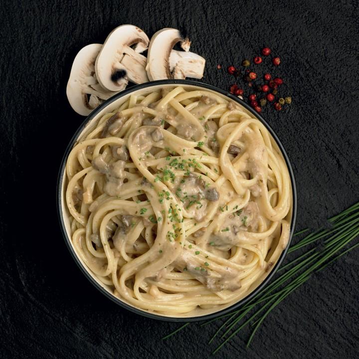 Fettuccini amb bolets