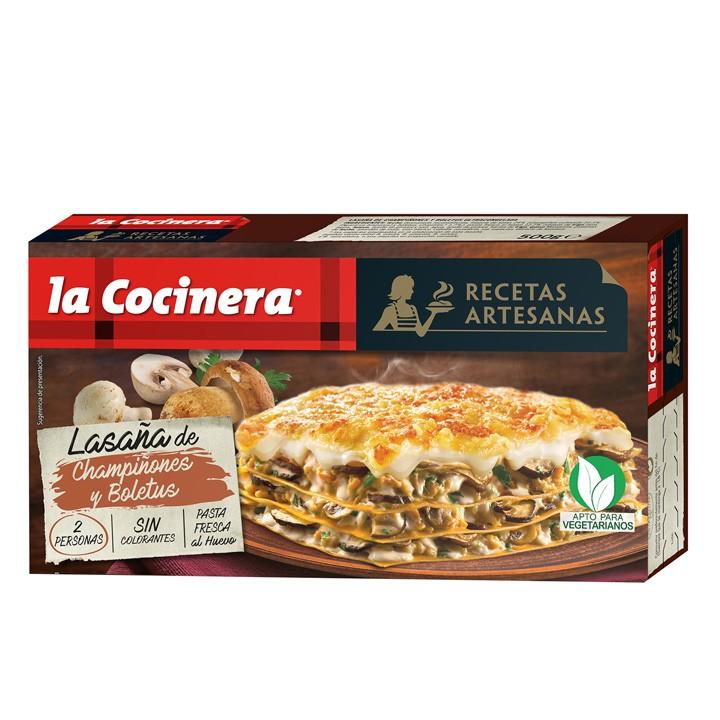 Lasanya boletus La Cocinera