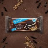 """""""Tortitas"""" d' arròs amb xocolata negra"""