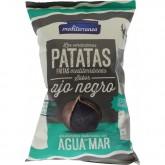 Patatas fritas Mediterranea ajo negro