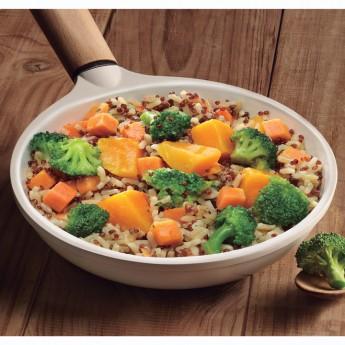 Arroz con quinoa y brécol Bio