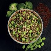 Veggiemix llenties, quinoa i bulgur