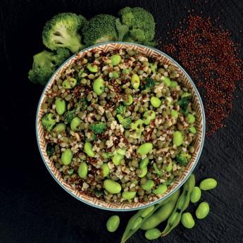 Veggiemix lentejas, quinoa y bulgur