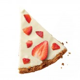 Terrina strawberry cheesecake