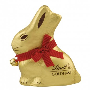 Gold Bunny leche Lindt
