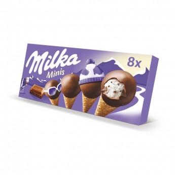 Mini conos Milka