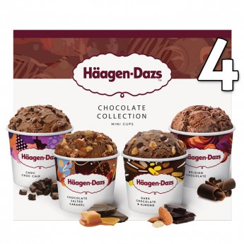 Minicups Chocolat Attraction H.Dazs