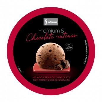 Tarrina chocolate intenso Premium