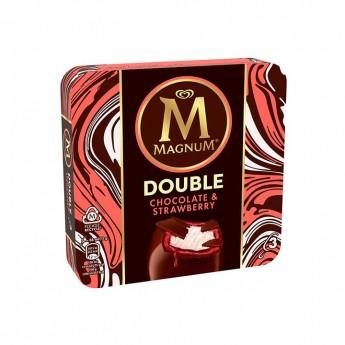 Magnum Double nata i maduixa Frigo