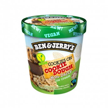 Tarrina Ben&Jerry's vegan cookie