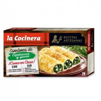 Canelones espinacas y queso Findus