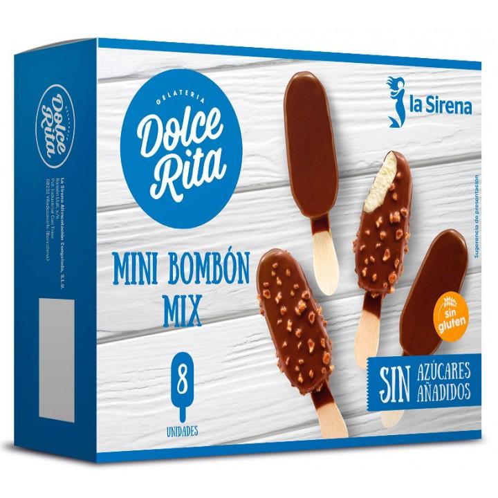 Mini bombó vainilla sense sucres afegits