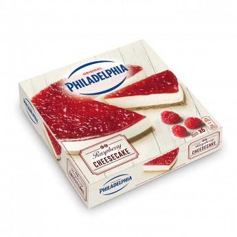 Cheesecake Philadelphia con Frambuesa