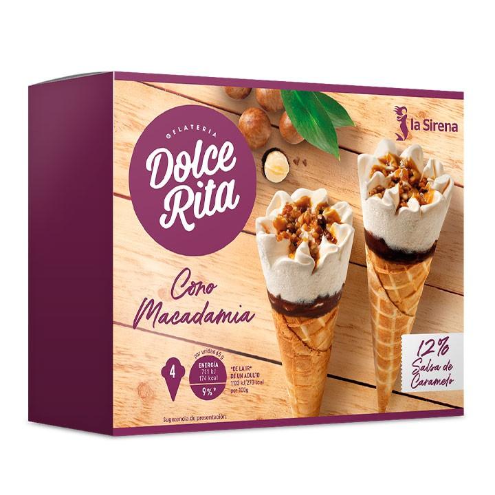 Conos helados Macadamia