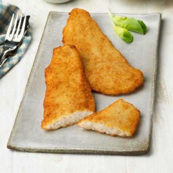 Filet de lluc empanat