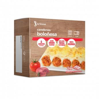 Canelones boloñesa 2x300g