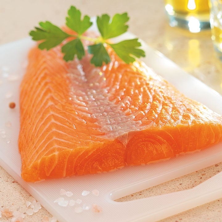 Filetes de salmón Premium