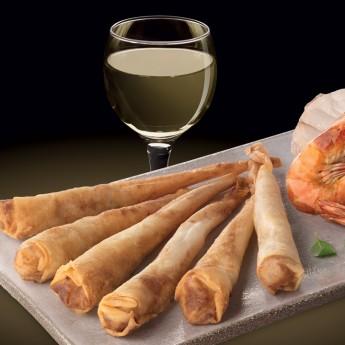 Twister Langostino y rape al vino Premium