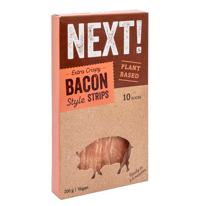 Bacon vegano Next