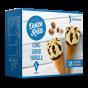 Cons gelats vainilla sense sucres afegits