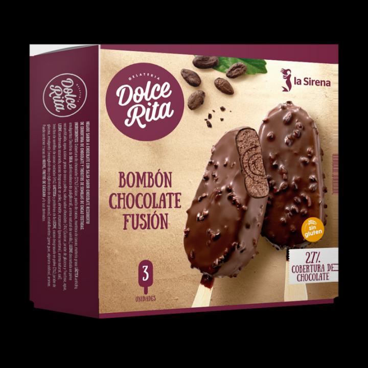 Bombó xocolata fusió
